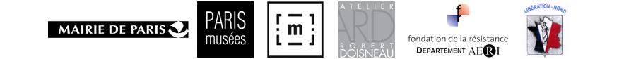 Logo partenaires de l'exposition Libération Nord