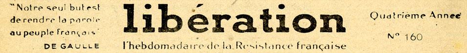 Libération N° 160 21/12/1943