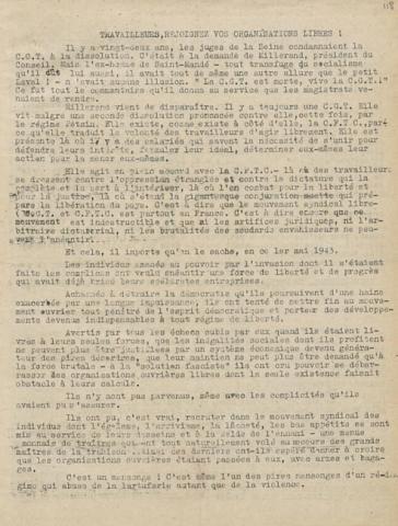 Libération, édition de zone occupée, n°126 du 28 avril 1943 - page 3 (BNF)