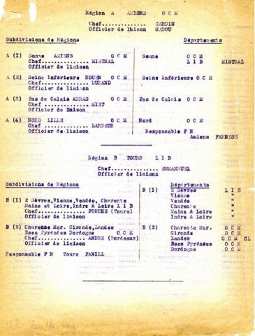 Organisation militaire de Libération dans la zone nord, 1944 (page 1)