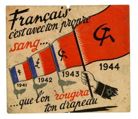 Tract de propagande du gouvernement de Vichy