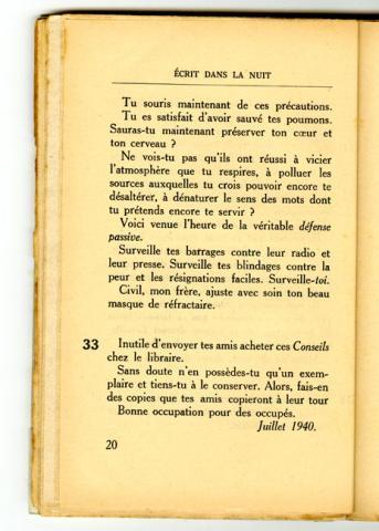 Conseils à l'Occupé - page 20