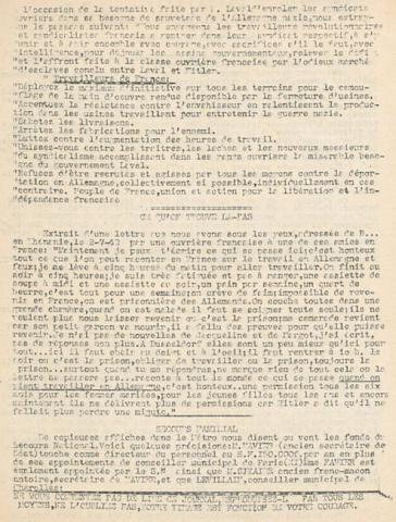 Libération, n°85 du 24 juillet 1942 (BNF)