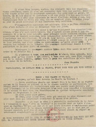 Libération, édition de zone occupée, n°126 du 28 avril 1943 - page 4 (BNF)