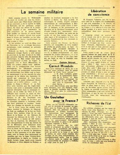 Libération n°149, édition zone nord du 5 octobre 1943 (page 3)