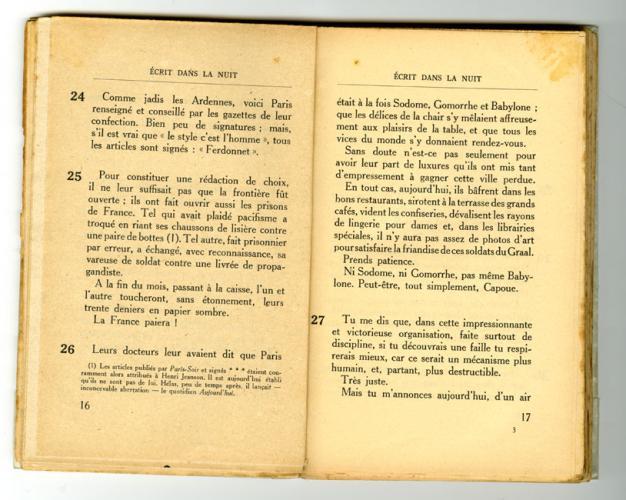Conseils à l'Occupé - pages 16 et 17