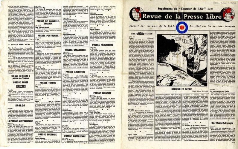 Revue de la presse libre, n°27
