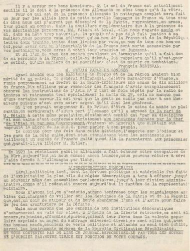 Libération, n°91 du 28 août 1942