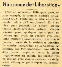 Libération N° 160 - 21 décembre 1943