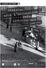 Affiche de l'exposition Libération-Nord