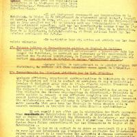Instruction n°1 du commandement militaire des Forces françaises de l'Intérieur (recto)