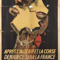 Affiche allemande de propagande anticommuniste