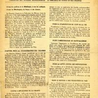 Tract de la Confédération générale du Travail (recto)