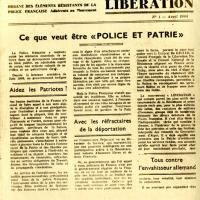 Journal de Police et Patrie (recto)