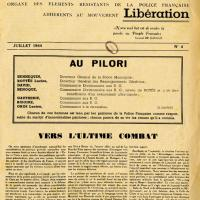 Journal Police et Patrie (recto)
