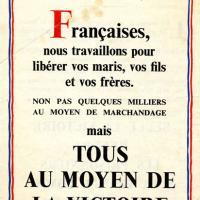 Tract franco-anglais de soutien aux Françaises